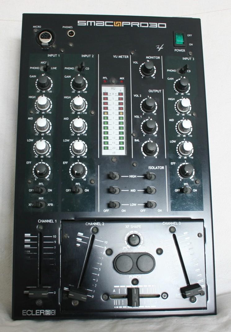 table de mixage ecler
